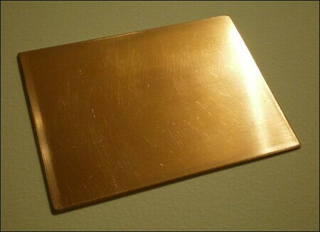 beveled plate